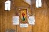 Надкладезная часовня святой блаженной Ксении Петербуржской внутри.