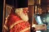 Отец Сергий читает слова Иоанна Златоуста - Пасха 2009г.